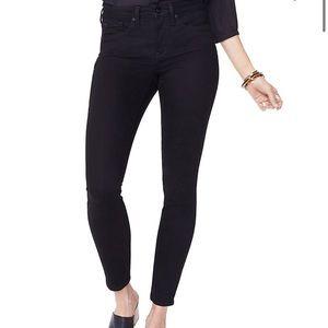 NWOT NYDJ Ami Skinny Leg Ankle Black Denim Jeans